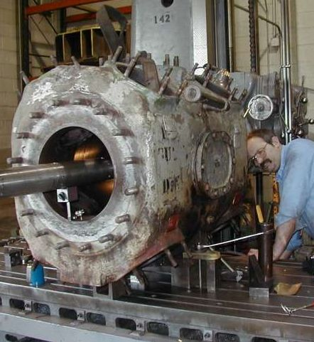 large horizontal line bore machine