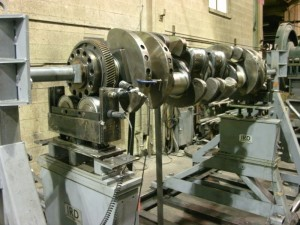 dynamic balancing engine crankshaft