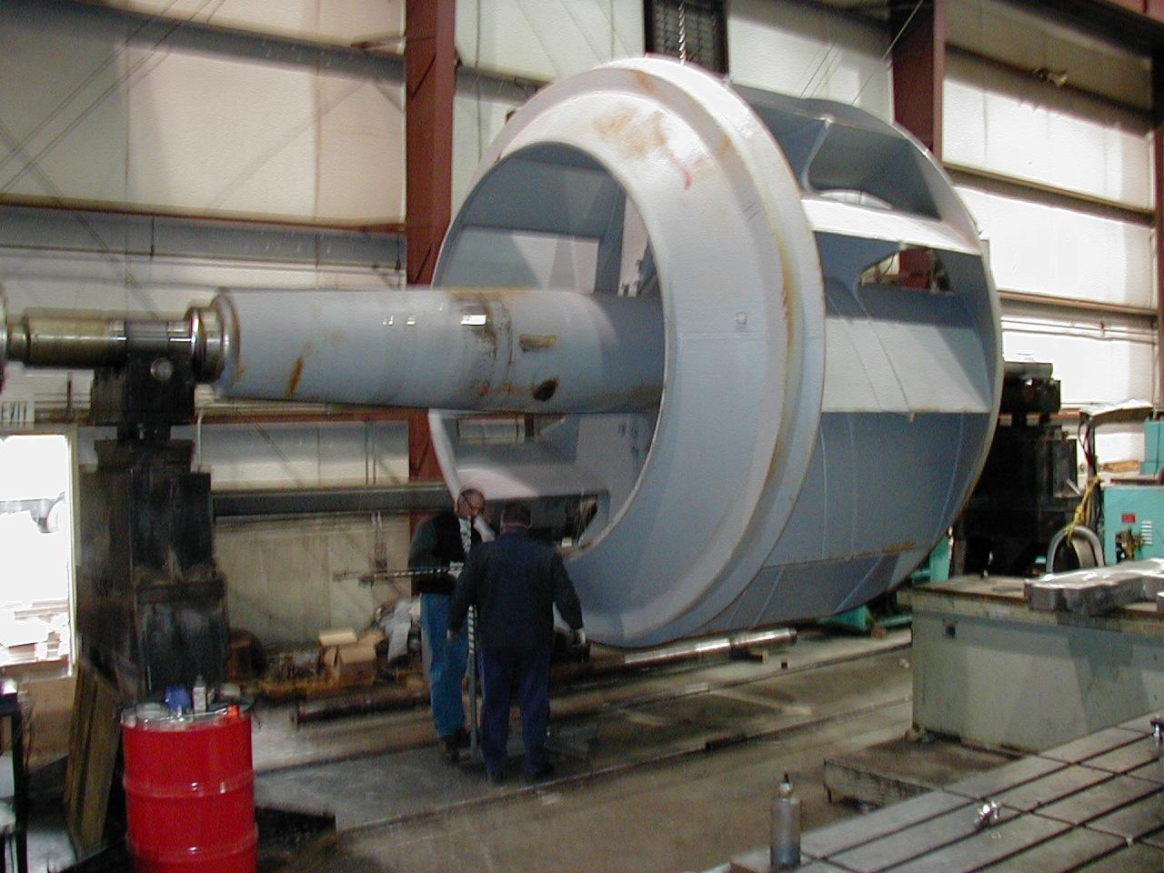 rotor balance machine