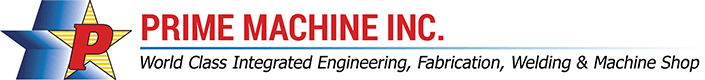 Welding Titanium mixer shaft - Prime Machine, Inc.