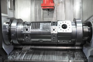 muti axis machining complex part large machining center