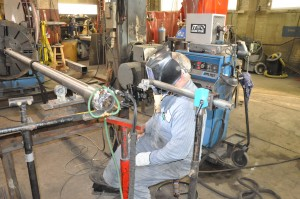 welding titanium, mixer shaft.titanium welding by experienced certifiedcraftsmen