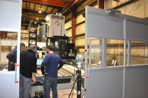 Parpas horzontal machining center precision accuracies for doing complex machining in our Salt Lake City, Utah machine shop.