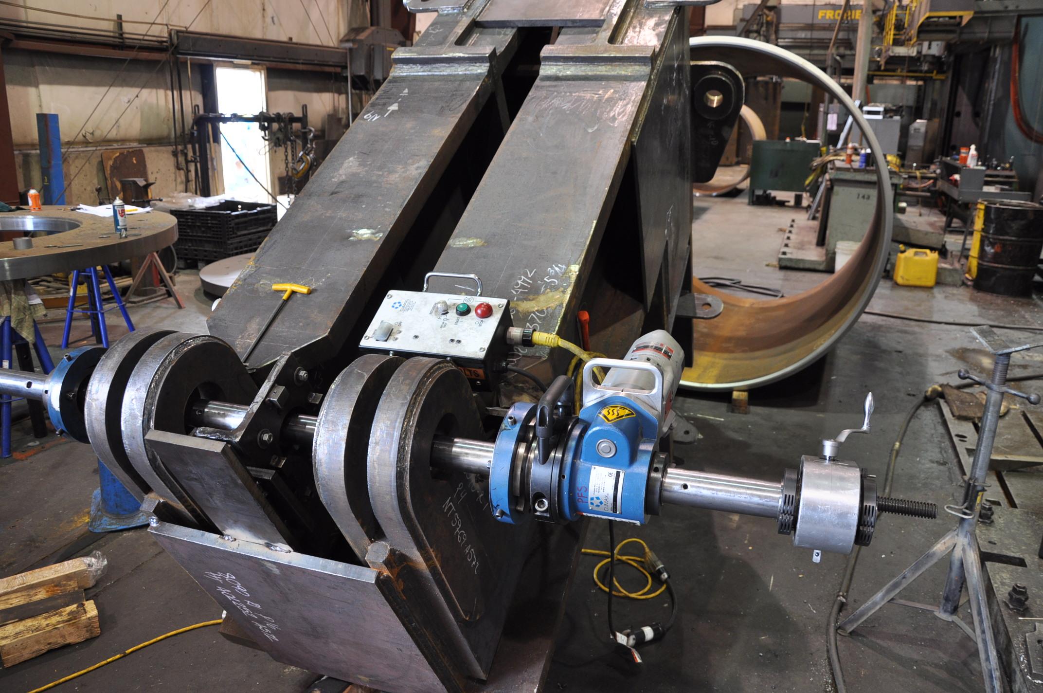 Portable Horizontal Boring : In place machining tooling prime machine inc