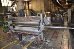 machining large jaw crusher babbitt bearing