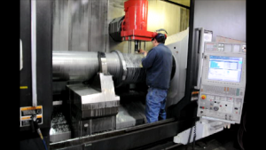 machining of large Cam shaft in our NT multi axis machining center